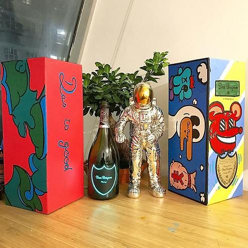 Custom Dom Pérignon Magnum Champagne Box