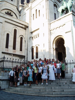 The Steps of Sacre Coeur-Tours
