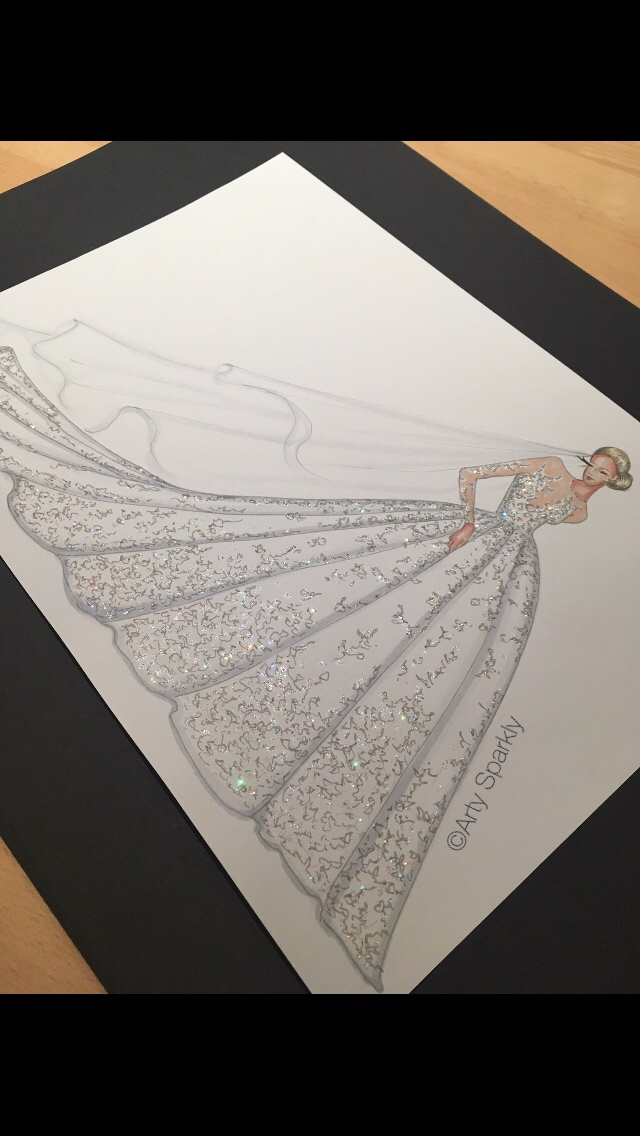 Michael Cinco/Swarovski Dress