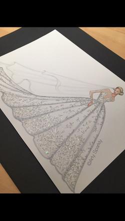 Michael Cinco/Swarovski Dress