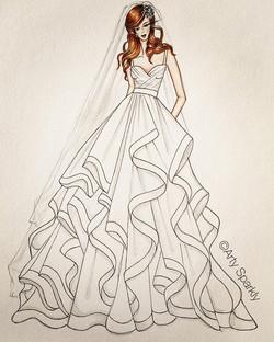 Auburn Bride