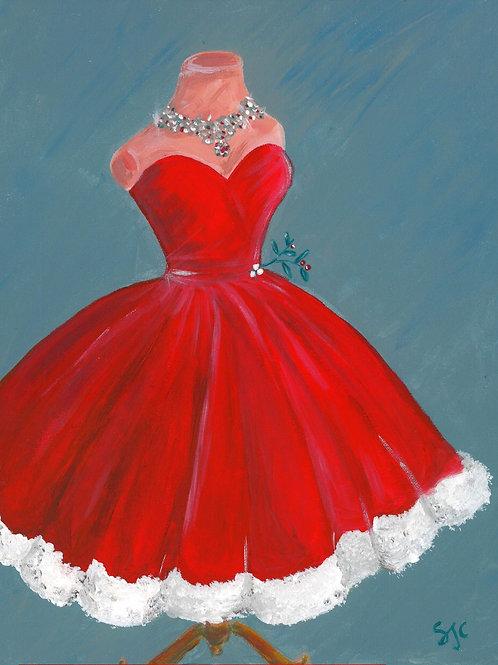 The Christmas Dress (Christmas Card)