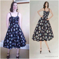 Prom dress illustration for Naimh