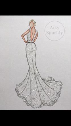 Bridal illustration order