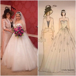 Vicki Bridal with Mother of the Brid