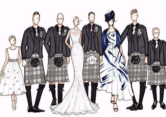 Custom Group Illustration