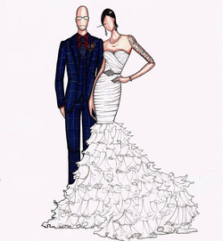 Congratulations to Rachael and her new husband who eloped last week.jpg Rachael ordered an illustrat