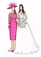 Mother of the Groom Illustration
