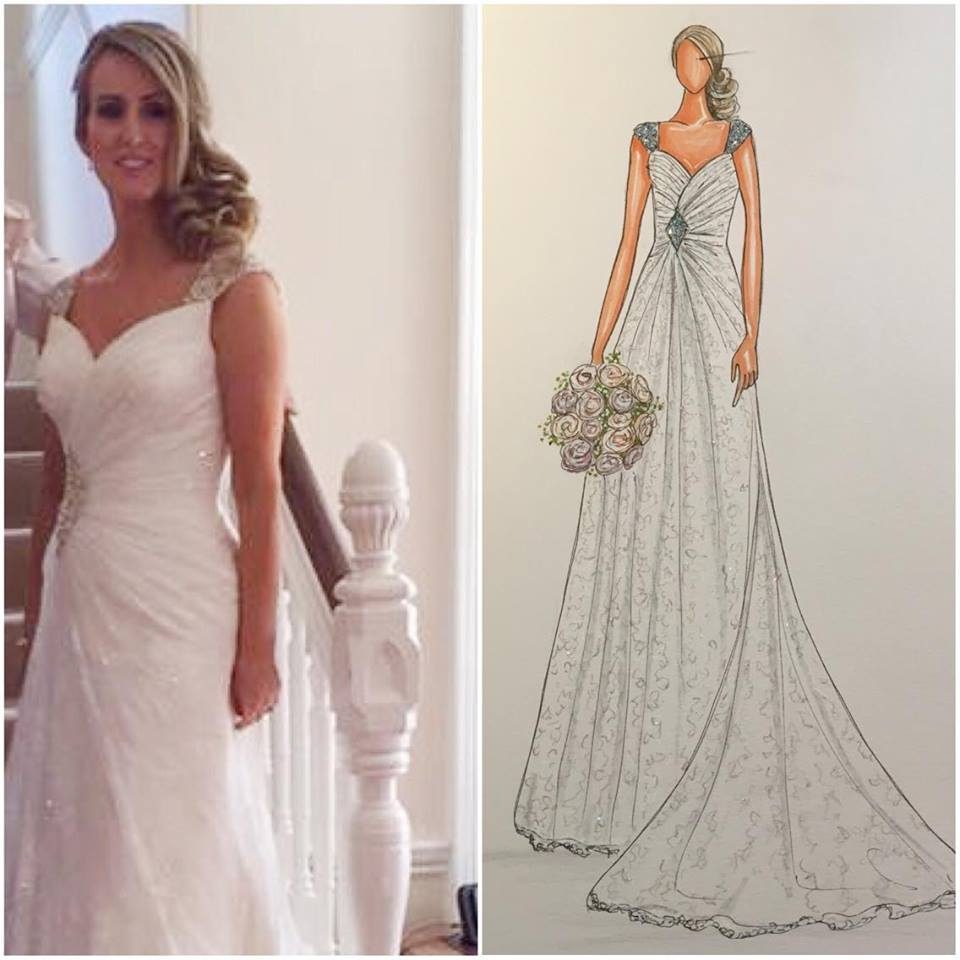 Tracy Bridal Illustration