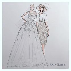 Custom Bride and Mother of the Bride gift