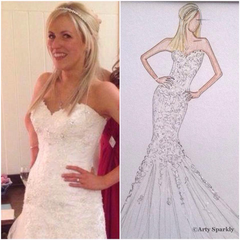 Bespoke Bridal Illustration