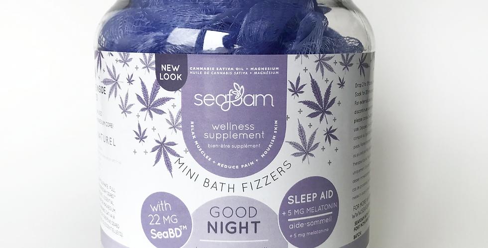 Good Night - Sleep Aid SeaBD™ terpene bath jar