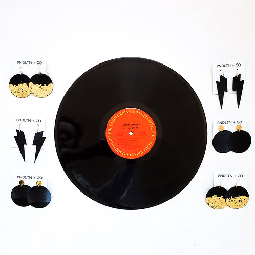 Recycled Vinyl Record Collection