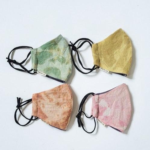 Organic Hand Dyed  Hemp Face Mask