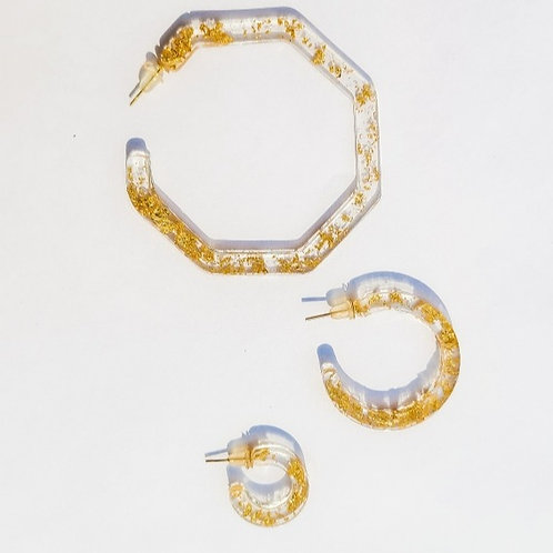 Goldie Hoop Collection