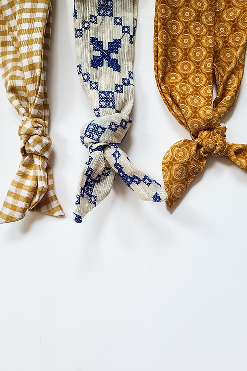 The Fall Collection Tie Headband