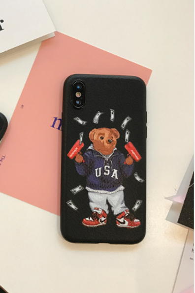 Supreme Bear IPhone Case