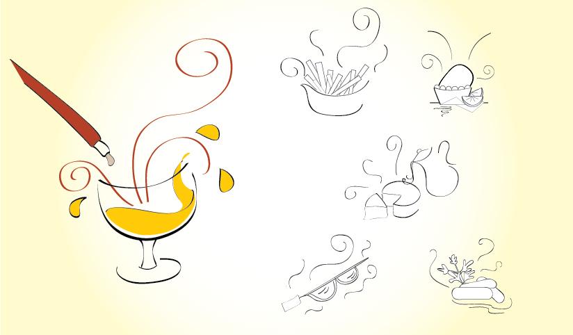 Ilustrações para Sinalização