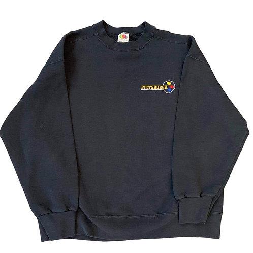 Vintage Pittsburgh Steelers Crewneck Sweater By Fruit Or The Loom