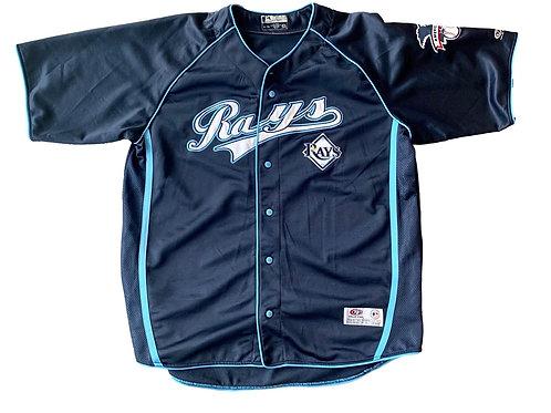 Vintage Tampa Bay Devil Rays MLB Baseball Jersey By True Fan