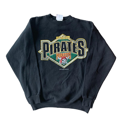 Vintage Pittsburgh Pirates Crewneck Sweater By Logo Athletic
