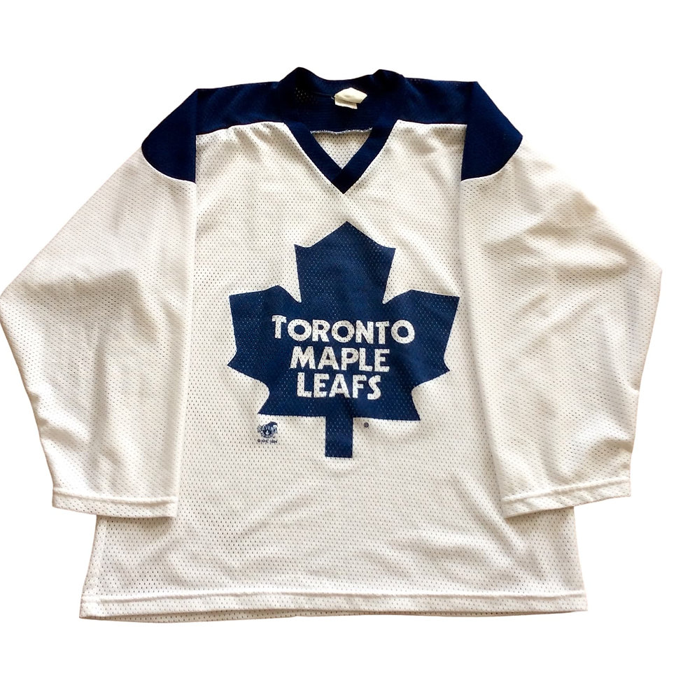 quality design a26b5 8dfc6 Vintage Toronto Maple Leafs Jersey by Ravens | thenandnowgoods