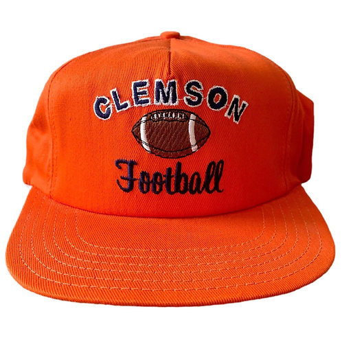 Vintage Clemson Tigers Snapback Hat By Paramount