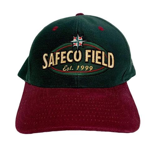 Vintage Seattle Mariners Safeco Field Snapback Hat by Cyrk