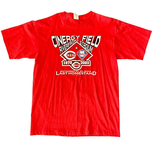 Vintage Cincinnati Reds T Shirt By Majestic