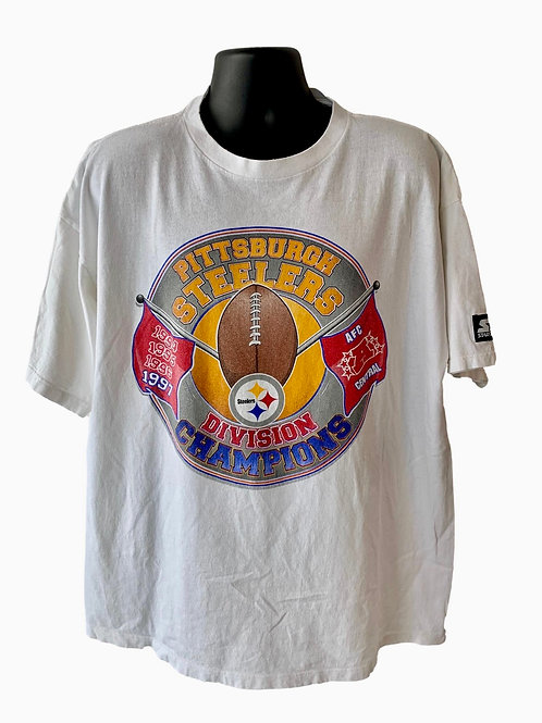 Vintage Pittsburgh Steelers T Shirt By Starter