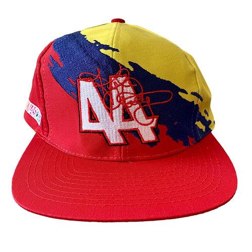 Vintage Nascar Racing Splash 44 Snapback Hat By Logo 7