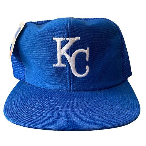 Vintage Kansas City Royals Snapback Hat By UII