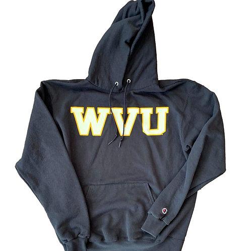 Vintage West Virginia Mountaineers Hoodie Sweater By Champion