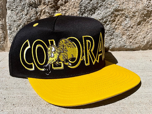 Vintage Colorado Buffaloes Snapback Hat