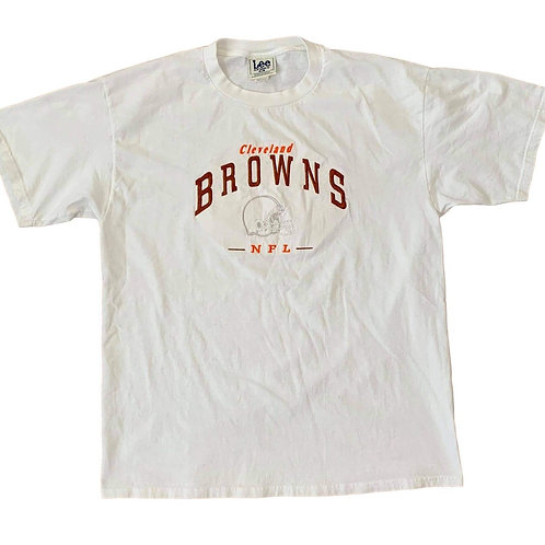 Vintage Cleveland Browns T Shirt By Lee Sport