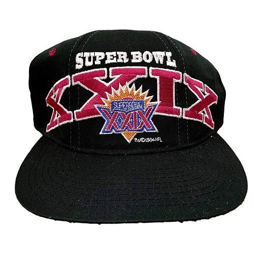 Vintage Super Bowl Snapback Hat By Starter