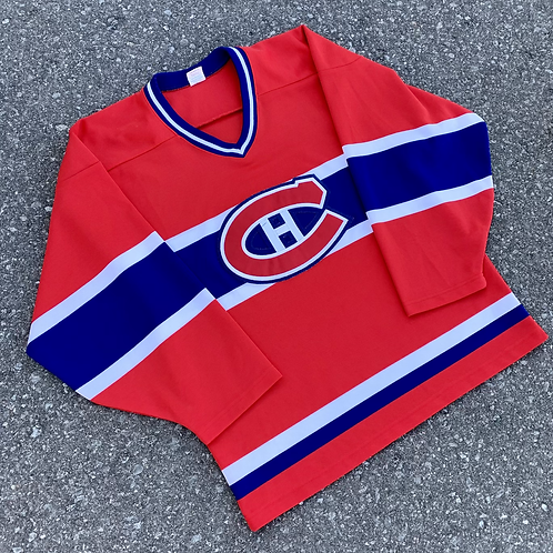 Vintage Montreal Canadians Nhl Hockey Jersey By Starter