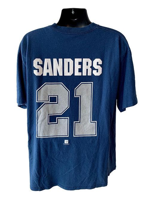 Vintage Dallas Cowboys Dion Sanders T Shirt By Starter