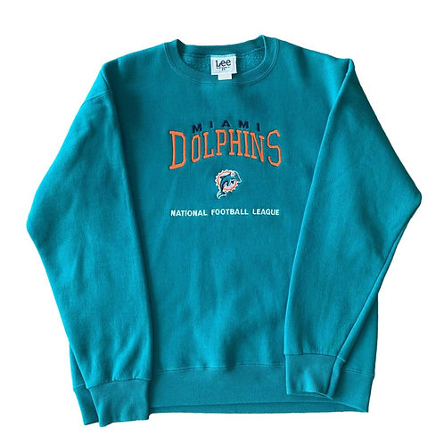 Vintage Miami Dolphins Crewneck Sweater By Lee Sport