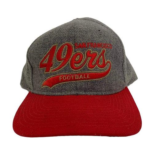 Vintage San Francisco 49ers Starter Heather Script
