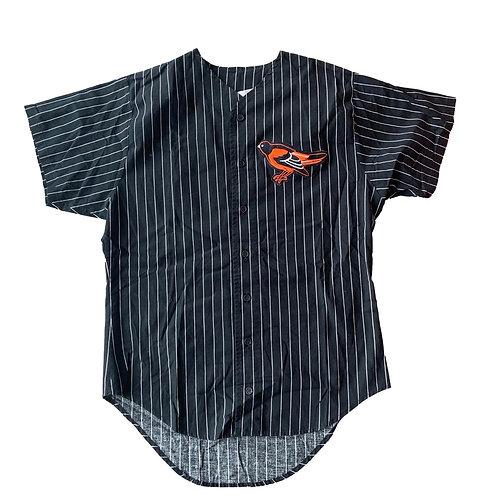 Vintage Baltimore Orioles Pinstripe MLB Baseball Jersey