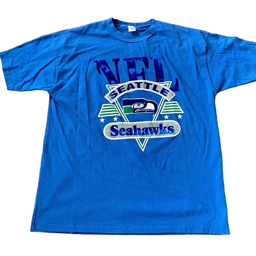 Vintage Seattle Seahawks T Shirt By Artex