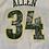 Thumbnail: Vintage Seattle Supersonics Ray Allen NBA Basketball Jersey By Reebok