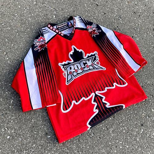 Vintage Toronto Rock NLL Lacrosse Jersey By Pro Joy