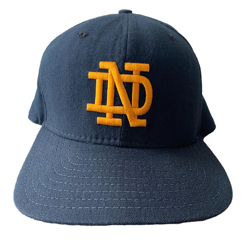 Vintage Notre Dame Irish Snapback Hat By New Era