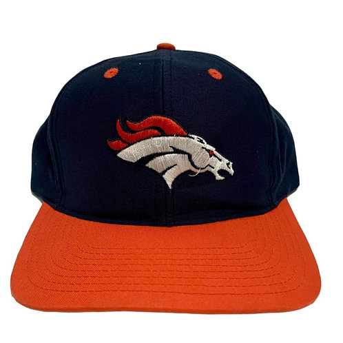 Vintage Denver Broncos Snapback Hat By Logo Athletic