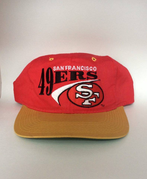 d2d9518138410 ... 90s new era pro model new nwt nfl 93ce3 0494e  netherlands vintage san  francisco 49ers snapback hat c555a ae9be