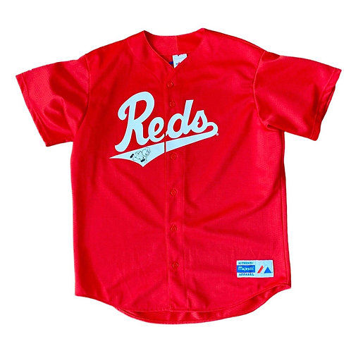 Vintage Cincinnati Reds MLB Baseball Jersey By Majestic