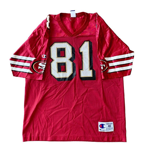 Vintage San Francisco 49ers Terrell Owens NFL Football Jersey By Champion
