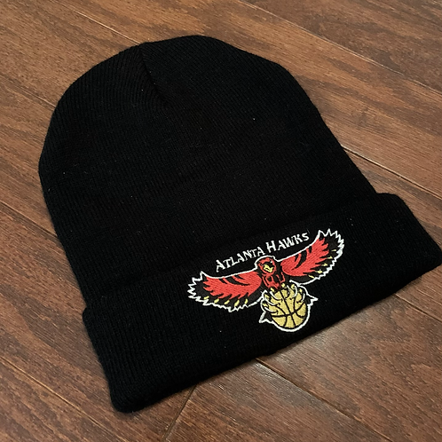Vintage Atlanta Hawks Beanie Hat